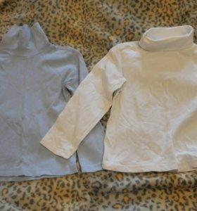 Две водолазки детские 110-116