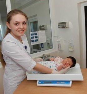 """Детские весы """"Саша"""" для новорожденных"""