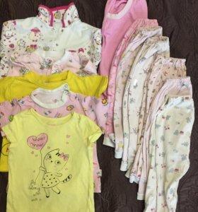 Домашняя одежда для девочки 1-1,5года