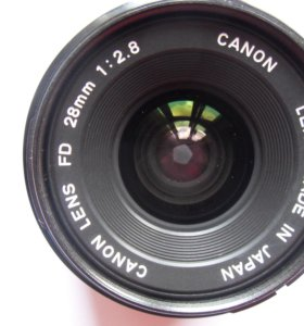 Объектив Canon FD 28mm