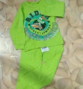 Новая пижама для мальчика на 1,5-2 года