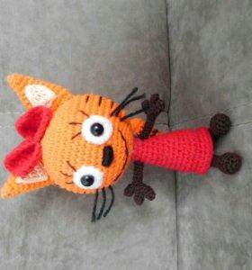 """Кошечка Карамелька игрушка """"Три кота"""" (handmade)"""