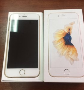 Айфон 6 s gold , на 16 gb