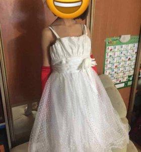 Платье детское бальное 120-140
