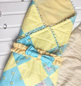 Конверт - одеяло на выписку ВЕСНА-ЛЕТО