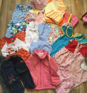 Вещи на девочку 74 - 86 размер