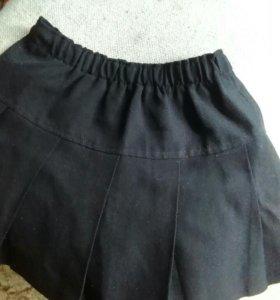 Легкая юбочка для девочки 5-8 лет