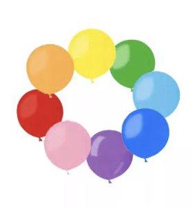 Воздушные шары из латекса с гелием
