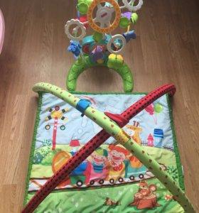 Мобиль и коврик для малышей