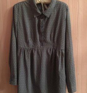 Блуза для беременных б/у р-р 46-48