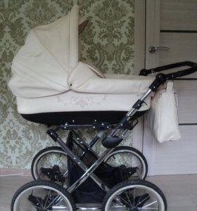 Коляска детская 2 в 1 Lonex Julia Ecco