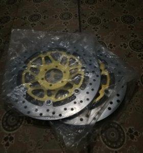 Тормозные диски Honda CB400 Vtek