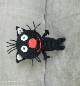 "Кот Сажик игрушка "" Три кота"" (ручная работа)"