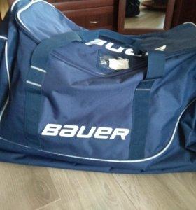 Хоккейная сумка bauer, новая!!!
