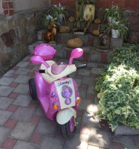 Детский электромопед