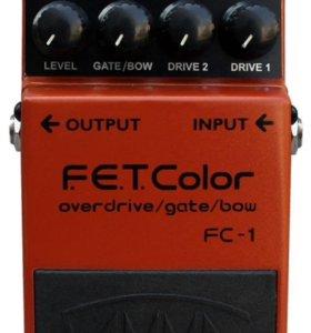 Новая Гитарная Педаль Yerasov F.E.T. Color