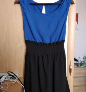 Молодёжное лёгкое платье 42-44р-р