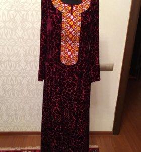 Красивое платье (туркменское)