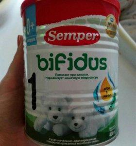 Смесь молочная адаптированная Семпер бифидум