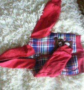 Детский костюм теплый новый