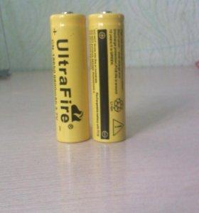 Аккумуляторы для фонарика 2 шт.
