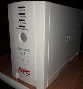 Блок бесперебойного питания Back-UPS CS 500