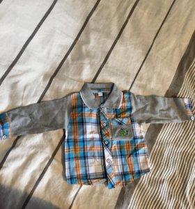 Рубашка размер на 86