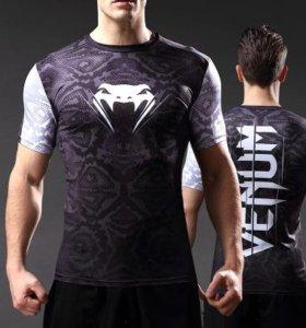 Рашгард venum мма компрессионная футболка (Новая)