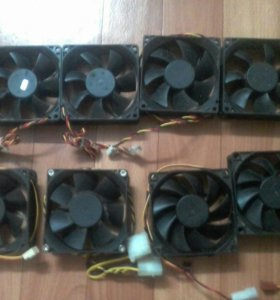 Вентиляторы корпусные для пк 80 мм
