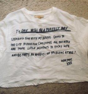 Укорочённая футболка (топ)