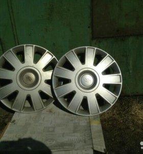 Оригинальные колпаки форд фокус 2, 15r (3штуки)