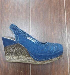 Женские джинсовые босоножки Ersax артик1043-T3-E3