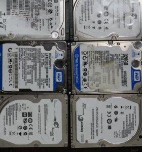 HDD 2.5 неисправные 250 320 500
