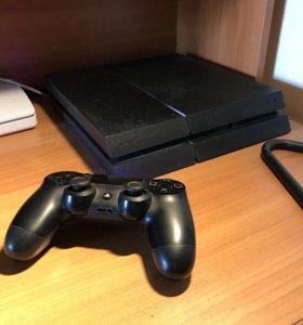 PlayStation 4 500gb + игры