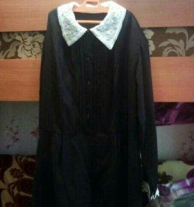 Школьное платье. Оказалось большое