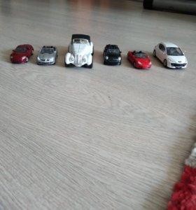 Машинки welly