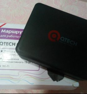 Wi fi ADSL Роутер Qtech Qnity 400