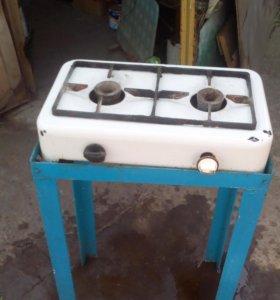 Настольная газовая плита