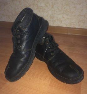 Ботинки зимние 43 р-р