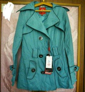 Новый плащ-пальто, 42-44