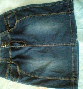 Юбка джинсоввая