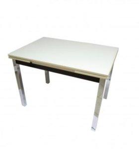 Стеклянный стол раскладной Марсель-1, разные цвета