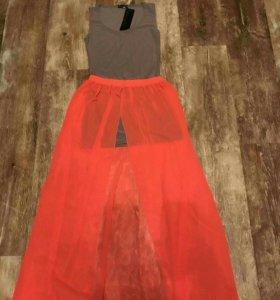 Юбка+платье