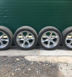 Колёса на Cadillac,Chevrolet