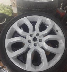 Продам колесо от range rover r22