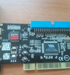 Контроллер VT6421A SATA Raid