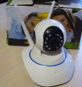Поворотная камера видеонаблюдения для дома, офиса