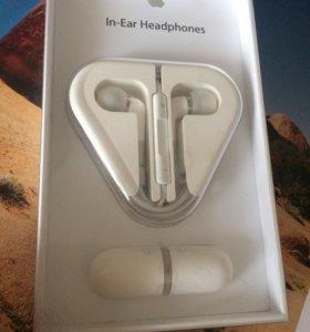 Наушники Apple In-Ear Headphones с пультом