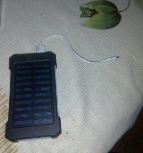 Солнечный повербанк зарядное