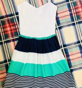 Лёгкое летнее платье Bershka